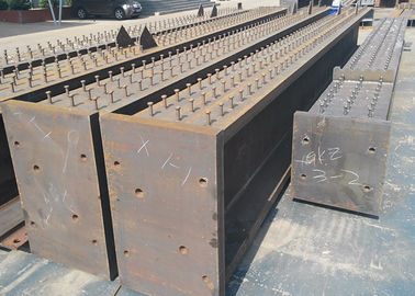 Oem Steel Fabrication Services Heavy Steel Structure Frame Multi Storey With Stud