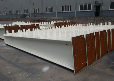 6 To 12m Length Structural Steel H Beam , Universal Steel Support Beam