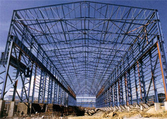 Metal Frame Steel Building With 8.0 Grade Workshop Earthquake Resistant