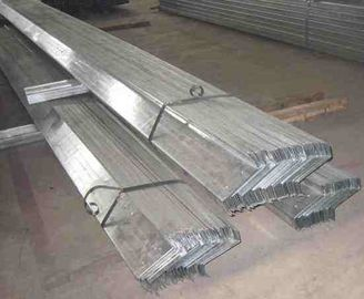 Lightweight Galvanized C / Z Purlins , Hot Rolled Metal Building Purlins