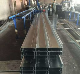 Q235b Q345b Galvanised Steel Purlins Cold Bending Spacing Steel Channel
