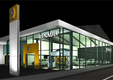 Fast Construction Car Showroom Building 4s Car Shop 8.0 Grade Earthquake Resistant