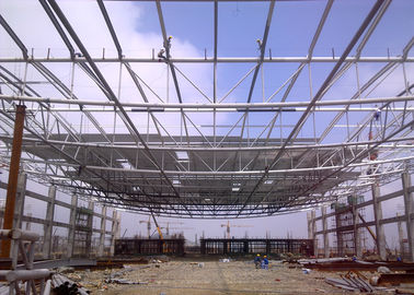 Mordern Design Structural Steel Pipe , Customised  Structural Steel Roof Framing