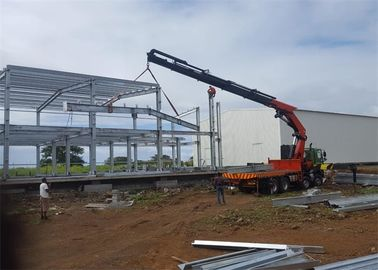 Portal Steel Frame Warehouse Construction Big Wind Load