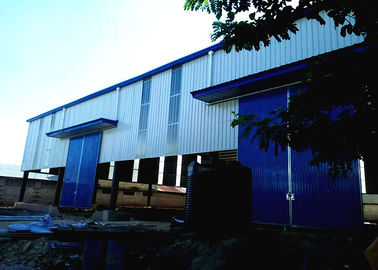 Prefabricated Industrial Steel Warehouse large span portal Structure Design