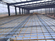 Customized Steel Structure Warehouse Steel Frame Buildings With Mezzanine