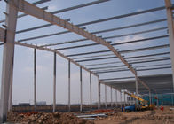 The fabrication of engineer designed portal frame steel structures warehouse