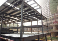 China Prefabricated Light Steel Structure Construction Middle Grey With Alkyd Primer factory