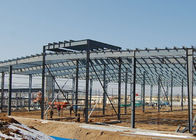 China Q345b High Strength Steel Structure Construction 30m Span With Portal Frame factory