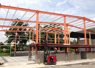Industrial Portable Hall Steel Structure Warehouse Prefab Custom Color