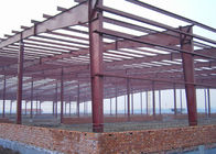 China Gable Frame Steel Structure Construction 60 X 40 X 8 M For Warehouse Frame factory