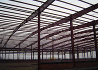 Gable Frame Steel Structure Construction 60 X 40 X 8 M For Warehouse Frame