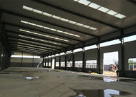 Precast Design Metal Warehouse Buildings , Galvanized Steel Frame Warehouse