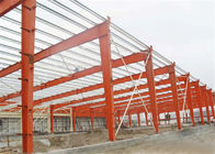 Self Design Prefab Workshop Buildings , Industrial Structural Steel Workshop