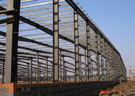 China Light Steel Frame Building , Grey Steel Frame Workshop Up To 50 Years Lifetime factory