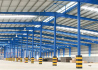 Prefabricated Steel Structure Warehouse Construction With Portal Structure