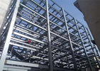 Steel Structure Prefabricated Warehouse Buildings , Ecuador Steel Frame Fabrication
