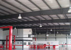 Steel Framing Car Showroom Building Exhibition Hall With Glass Curtain