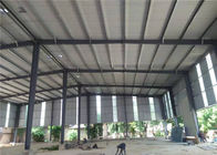 Construction Precoated Roofing Sheets Prefabricated Steel Frame Warehouse In Philippines