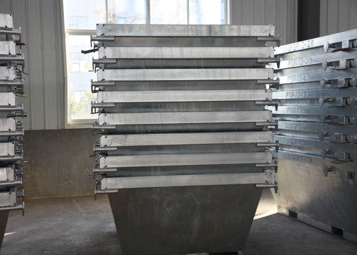 Australian Heavy Loading Steel Fabrication Services Galvanized For Waste Bins