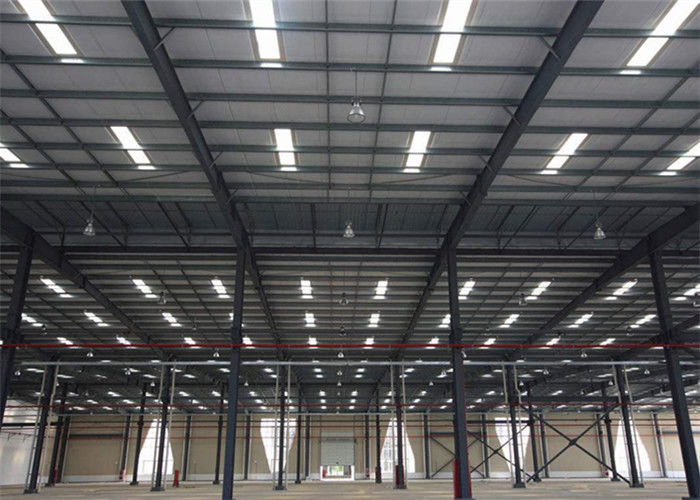 Light Steel Structure Construction Prefabricated  Large Span Warehouse Workshop