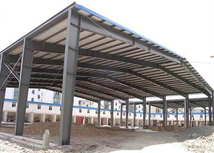 Sugar Factory Steel Structure Workshop Hot Dip Galvanized Frame Construction