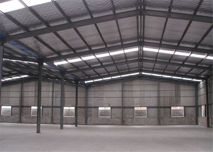 Professional Structural Steel Warehouse With Sandwich Panel Light Steel Frame