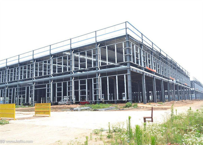 Easy Install Steel Structure Construction Insulated Prefab Warehouse Shed