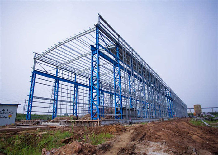 Portal Frame Prefabricated Steel Structure Warehouse Fabrication Engineer Design