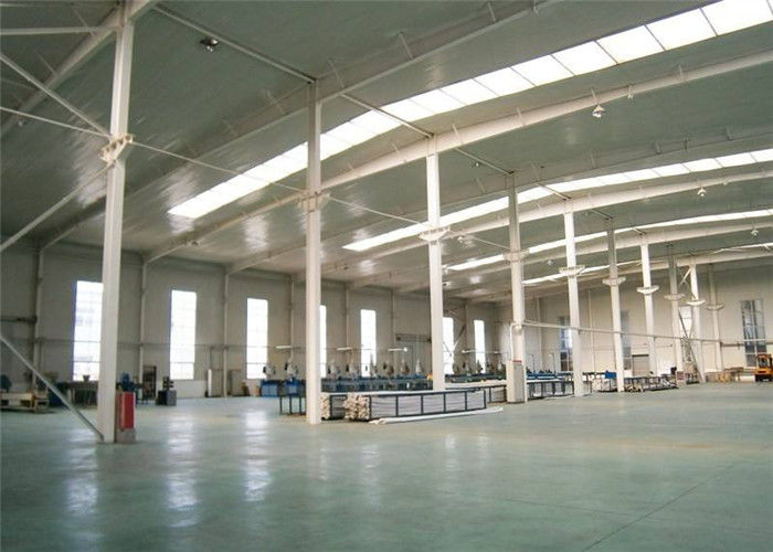 Stable Structural Steel Frame Construction Prefabricated Warehouse Buildings