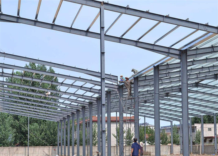 Prefabricated Steel Structure Construction Pre Built Steel Manufactured Workshop