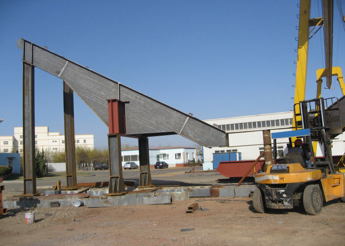 Indian Strong Structural Steel , Bracing Platform Heavy Steel Construction