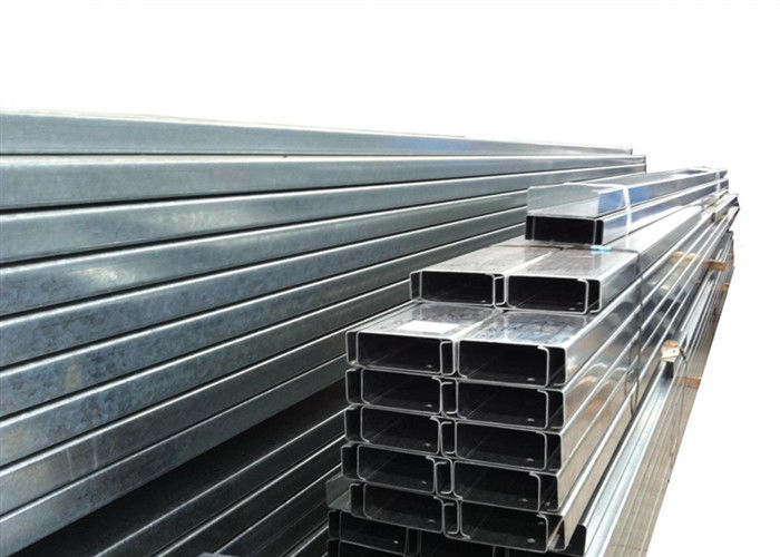Building Material Galvanised Steel Purlins Z Section 150 To 300mm For Roofing