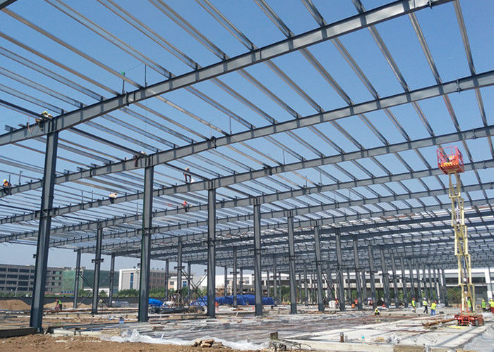 Manufacturers prefabricated construction steel structure light frame warehouse buildings