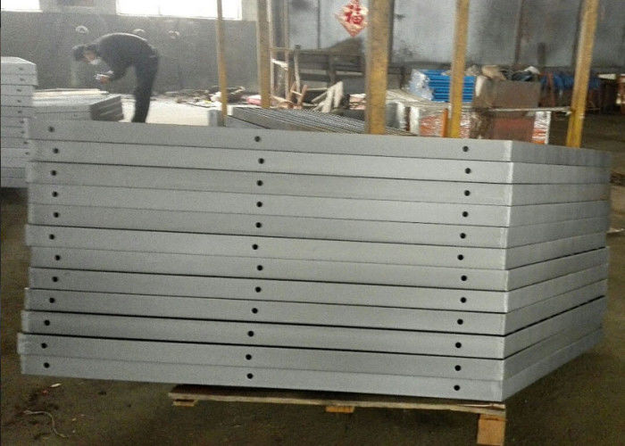 Semi-gloss surface treatment  australian airport flat bar steel balustrade fabrication