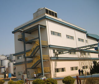 China Q345b Q235b Multi Storey Steel Frame Construction Steel Structure Frame Building factory