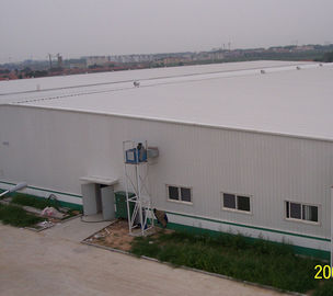 China Construction Design Customize Prefabricated Light Weight Portale Frame Steel Workshop factory