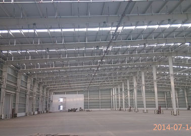 China Galvanized steel structure prefabricated warehouse with steel frame use life 50 years factory