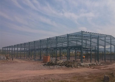 China Pre engineered steel buildings metal large span logistics steel warehouse with office factory