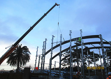 Sydney Theatre Architectural Structural Steel Q345b Curved Steel Beam