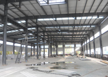 China Metallic Structural Steel Workshop Wide Span Earthquake Resistance Water Proffing factory