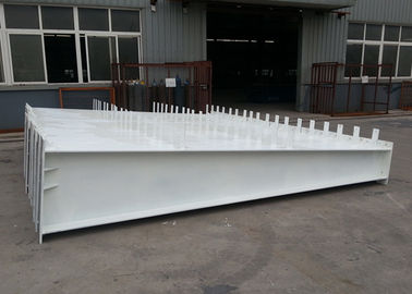 China Light Steel Frame Metal Fabrication Services Prefabricated With Weld H Beam distributor