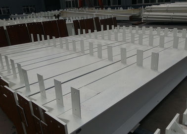 China Construction Steel Fabrication Services For Prefab Structural Steel Workshop distributor