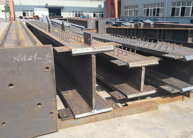 China Pre Engineered Custom Metal Fabrication heavy Steel For Large Steel Building distributor
