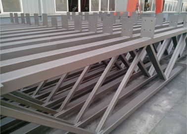 China Q235b Light Square Tubing Trusses , Grey Metal Structural Beams For Surport factory