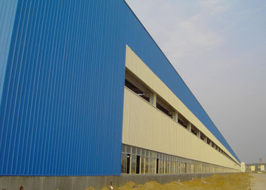 China Heavy Steel Structure Workshop Construction With Alkyd Primer Surface Treatment factory
