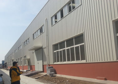 China Fire Proof  Steel Warehouse Construction 120 * 60 * 9 M For Impulse Sport Equipments factory