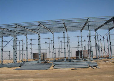 China Eco Friendly Pre Manufactured Steel Buildings With Strong Professional Design distributor