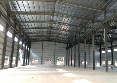 China High Strength Steel Structure Workshop Eco Friendly For Food / Equipment Processing distributor