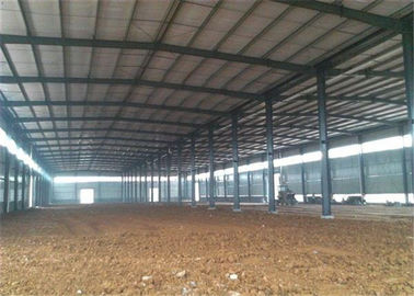 China Modern Steel Structure Construction Steel Frame Warehouse With Sandwich Panel factory